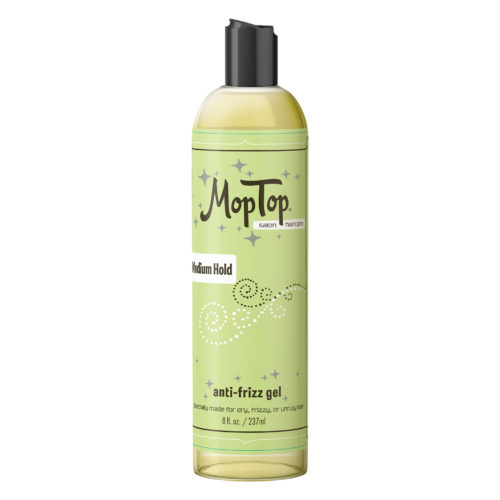 Mop Top Medium Hold anti-frizz Gel 8oz